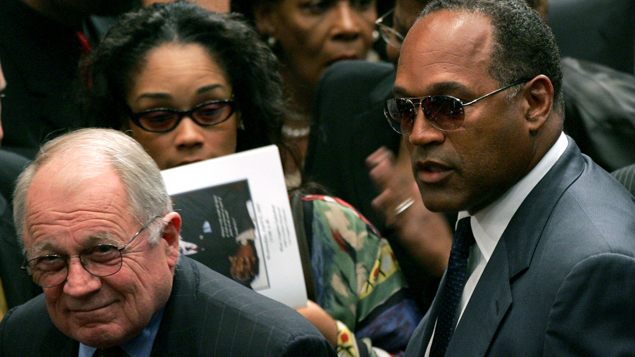 OJ Simpson F. Lee Bailey - Getty 2016 - H
