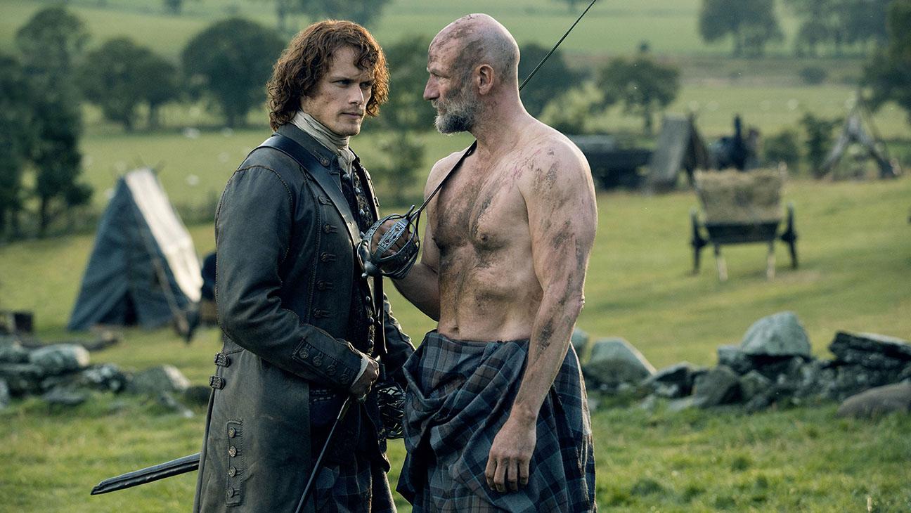 Outlander Sam Heughan Graham McTavish S02 E209 H 2016