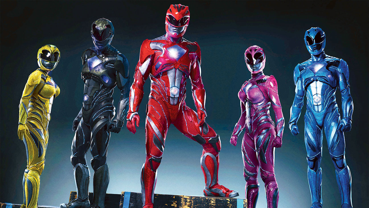 Power Rangers Team - Publicity - H 2016