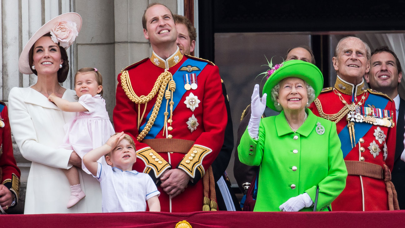 Queen Elizabeth II Trooping the Colour 2016 - Getty - H 2016