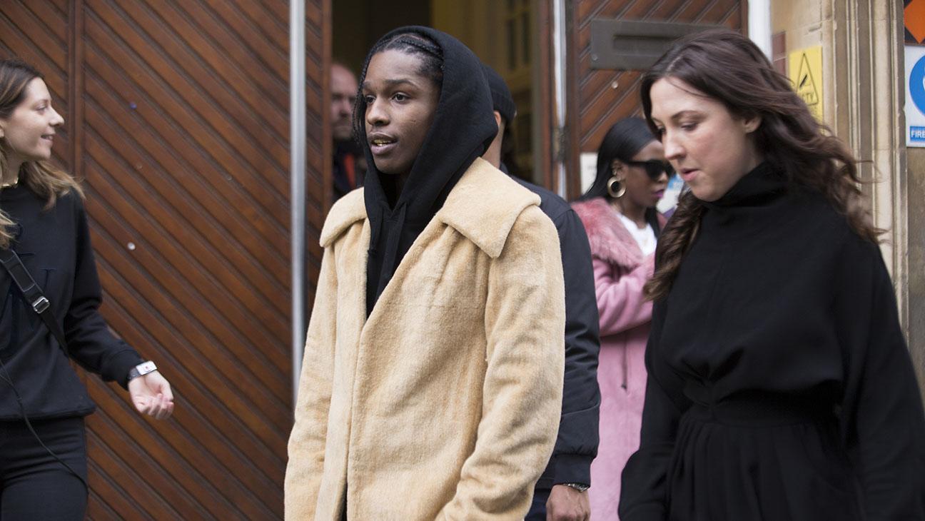 Rapper ASAP Rocky exits the J.W. Anderson Show  - Getty - H 2016