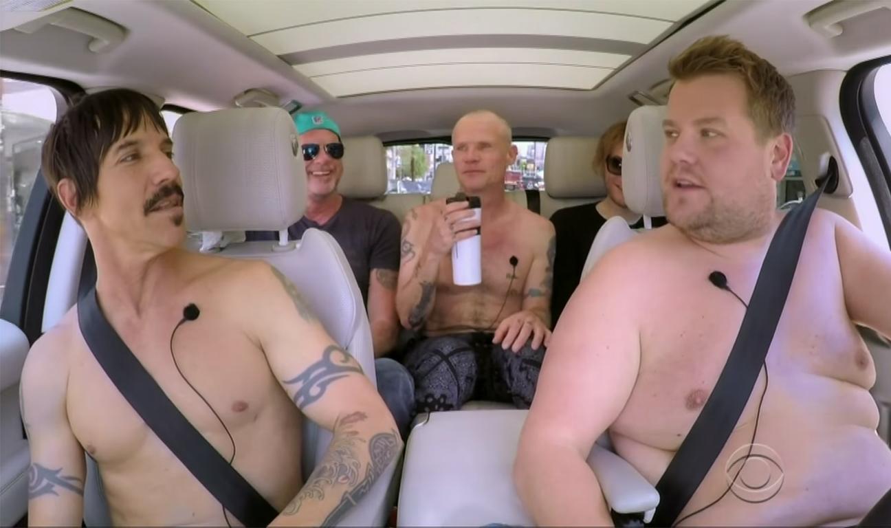 Red Hot Chili Peppers Carpool Karaoke H 2016