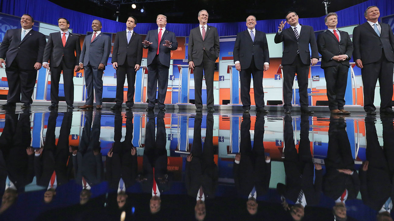 Republican Presidential Debate Aug  2015 H 2016
