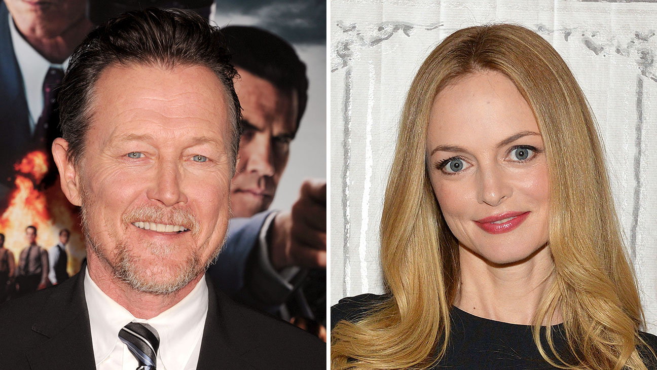 Robert Patrick and Heather Graham_Split - Getty - H 2016