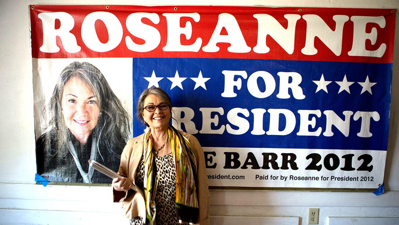 Roseanne For President Still H 2016