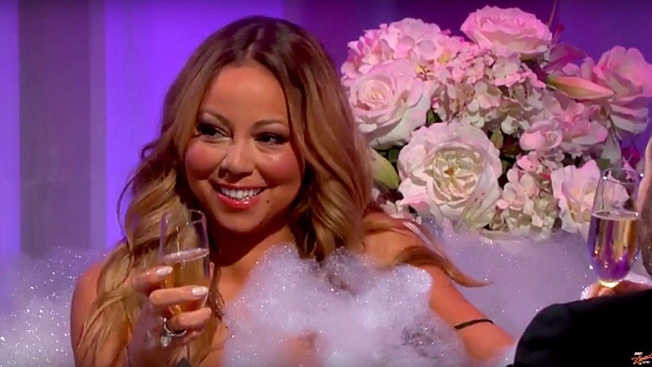 Mariah Carey on Jimmy Kimmel Live - H 2016