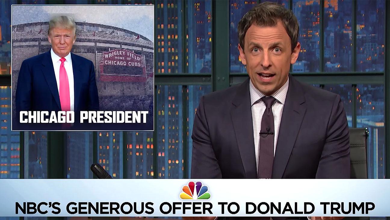 Seth Casts Donald Trump's Chicago President-Screen Shot 2-H 2016