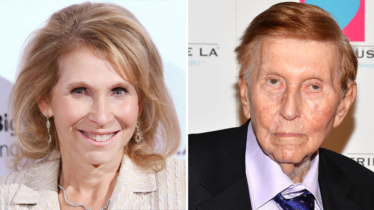 Shari Redstone and Sumner Redstone Split-Getty- H 2016