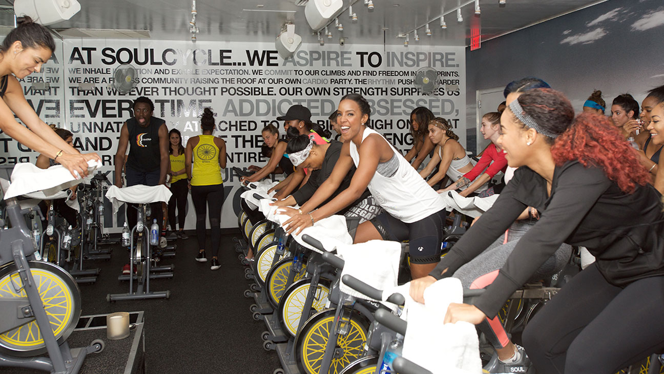 SoulCycle WEHO Kelly Rowland H 2016