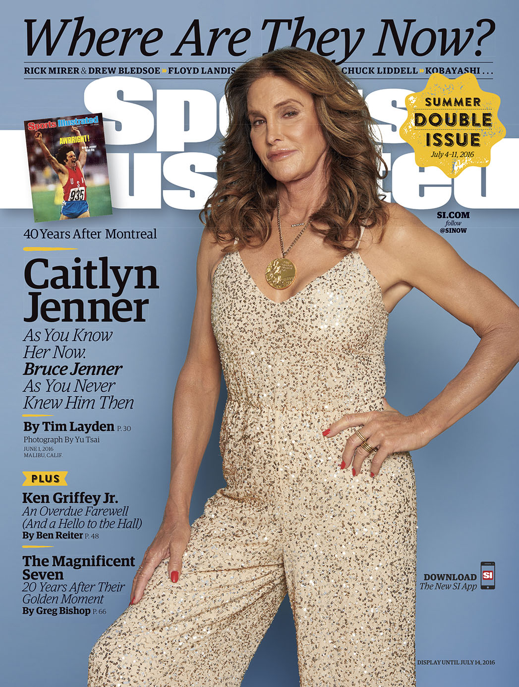 Sports Illustrated Caitlyn Jenner July Cover - P 2016
