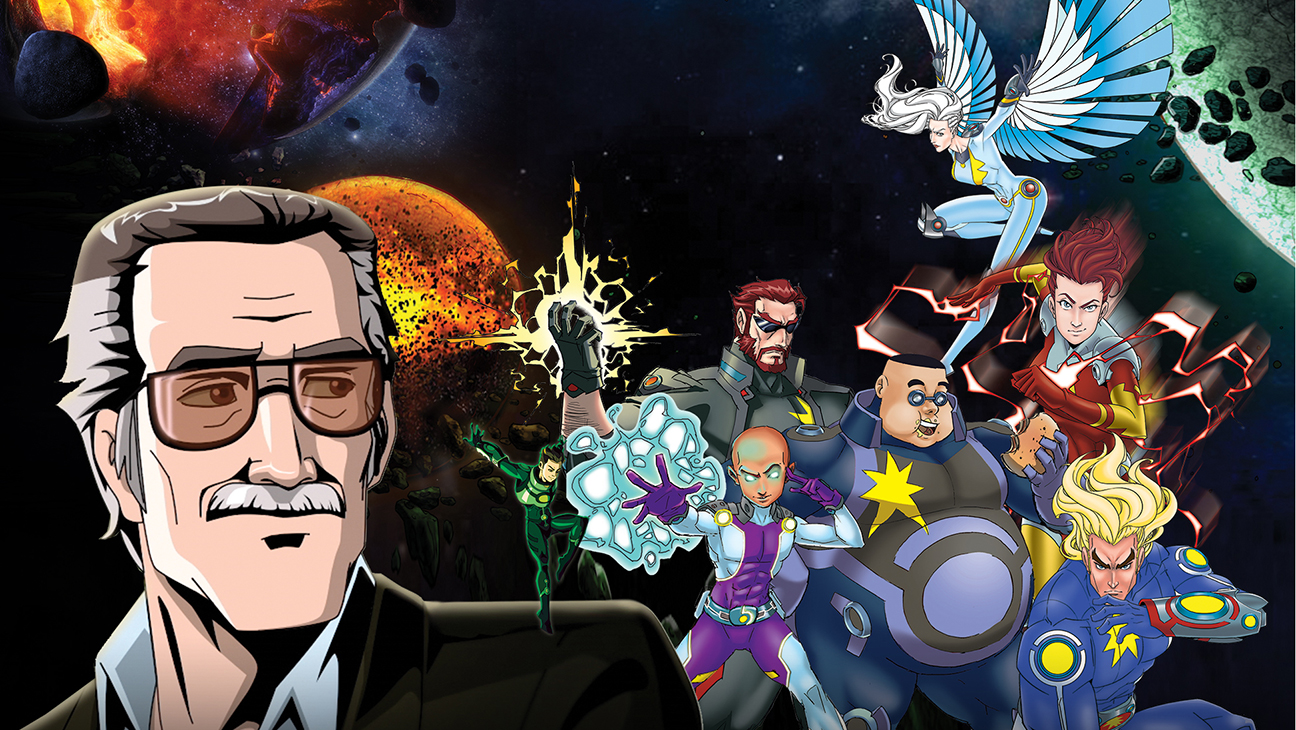 Stan Lee Cosmic Crusaders USE THIS ONE - H publicity 2016