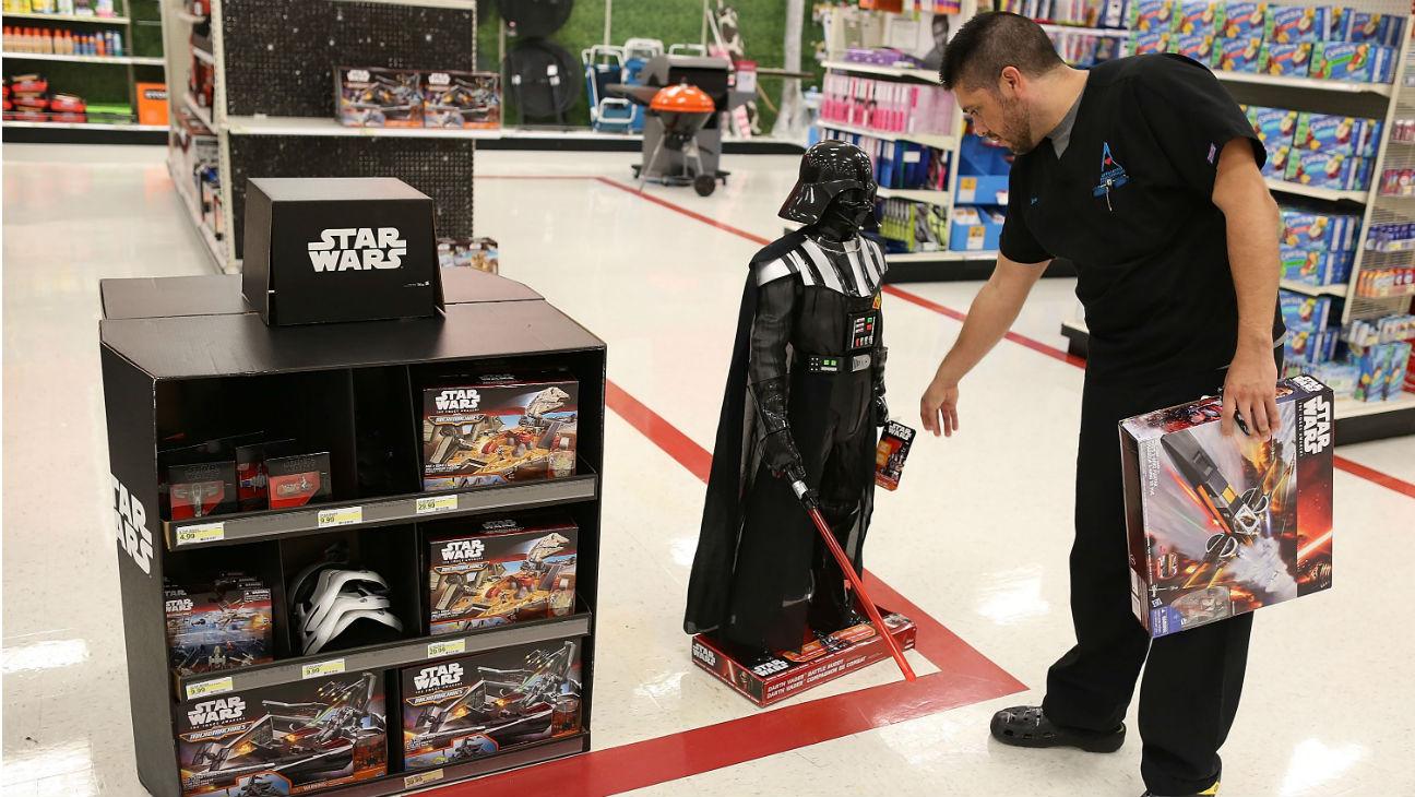 'Star Wars' toys - Getty H 2016