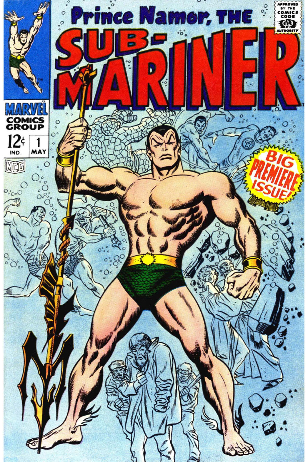 Prince Namor, The Sub-Mariner Cover - P 2016