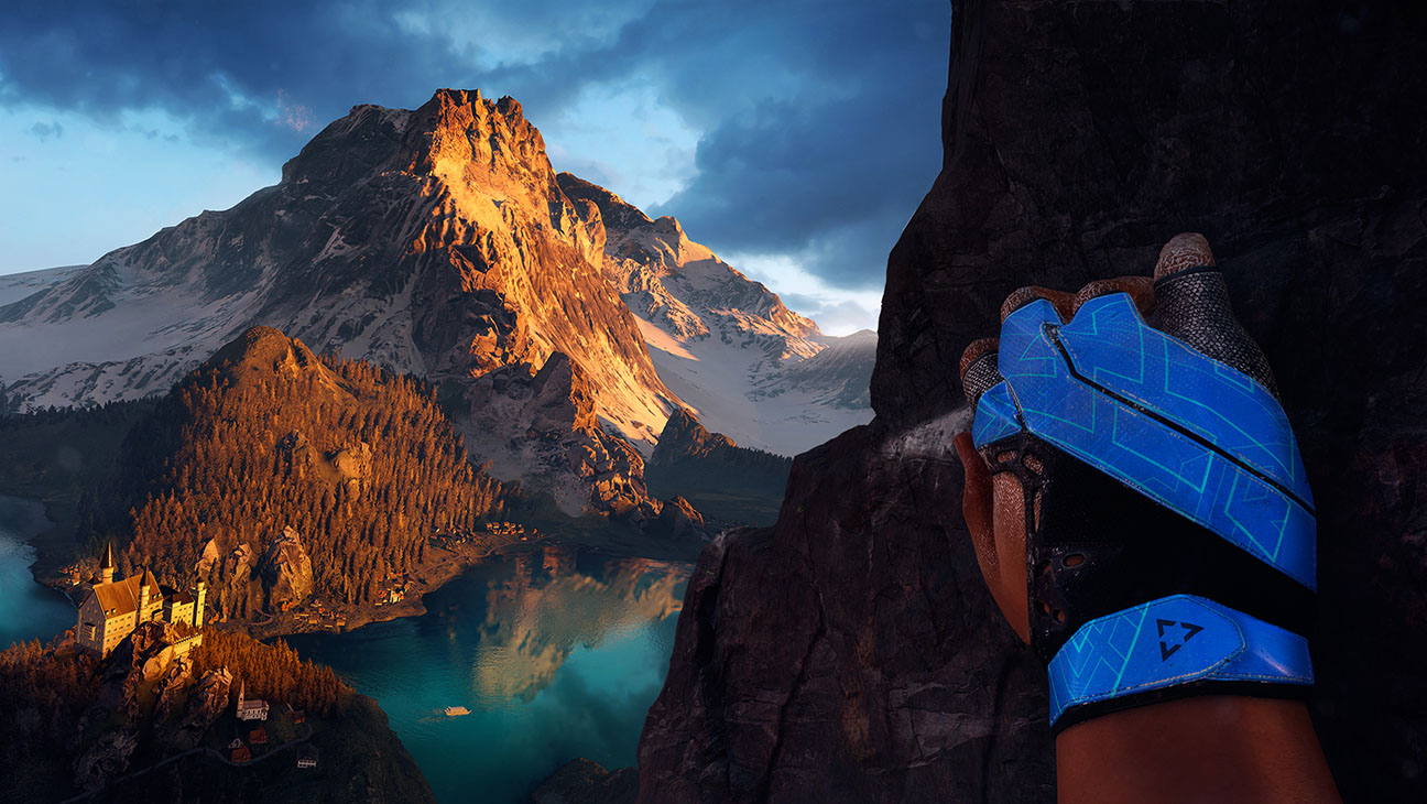 The Climb in game VR - H 2016
