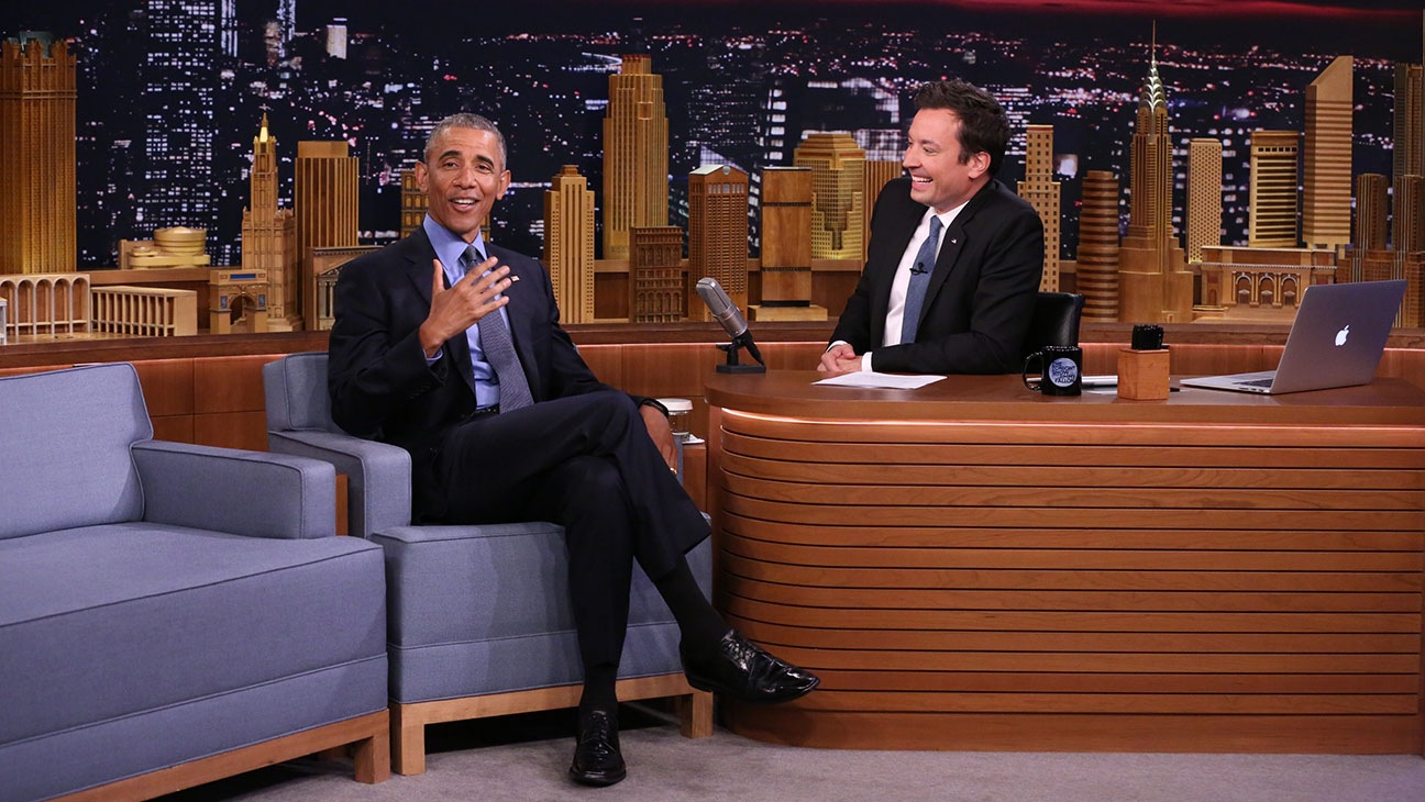 The Tonight Show Jimmy Fallon President Obama  - Publicity - H 2016
