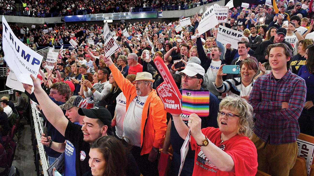 Trump Rally - Getty - H 2016