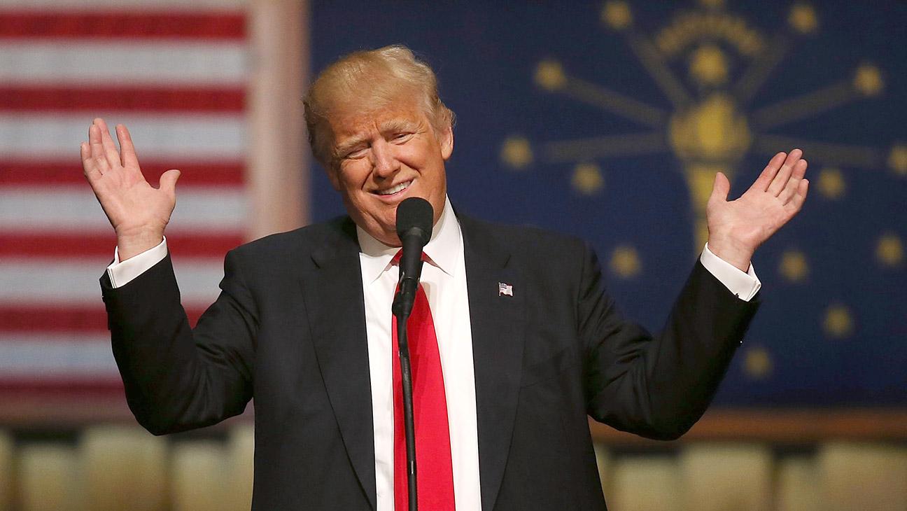 Trump_Smiling - Getty - H 2016