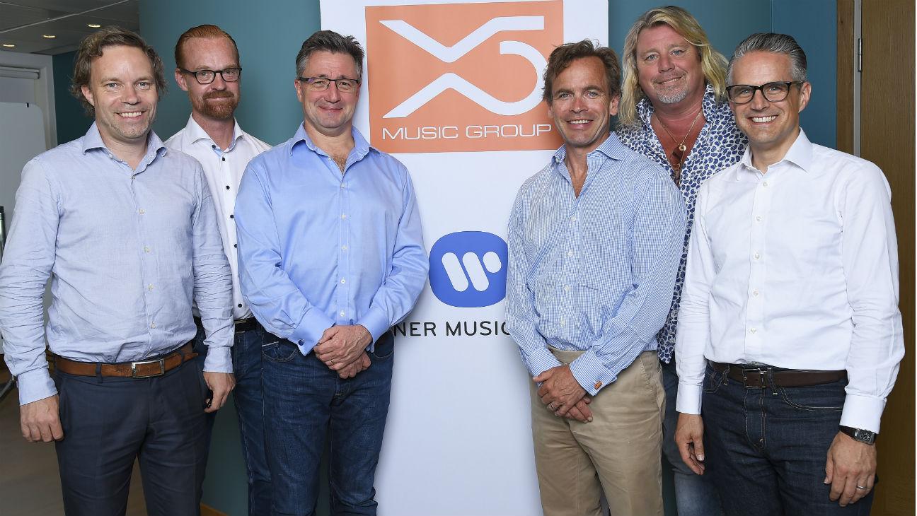 X5, Warner Music team - H 2016