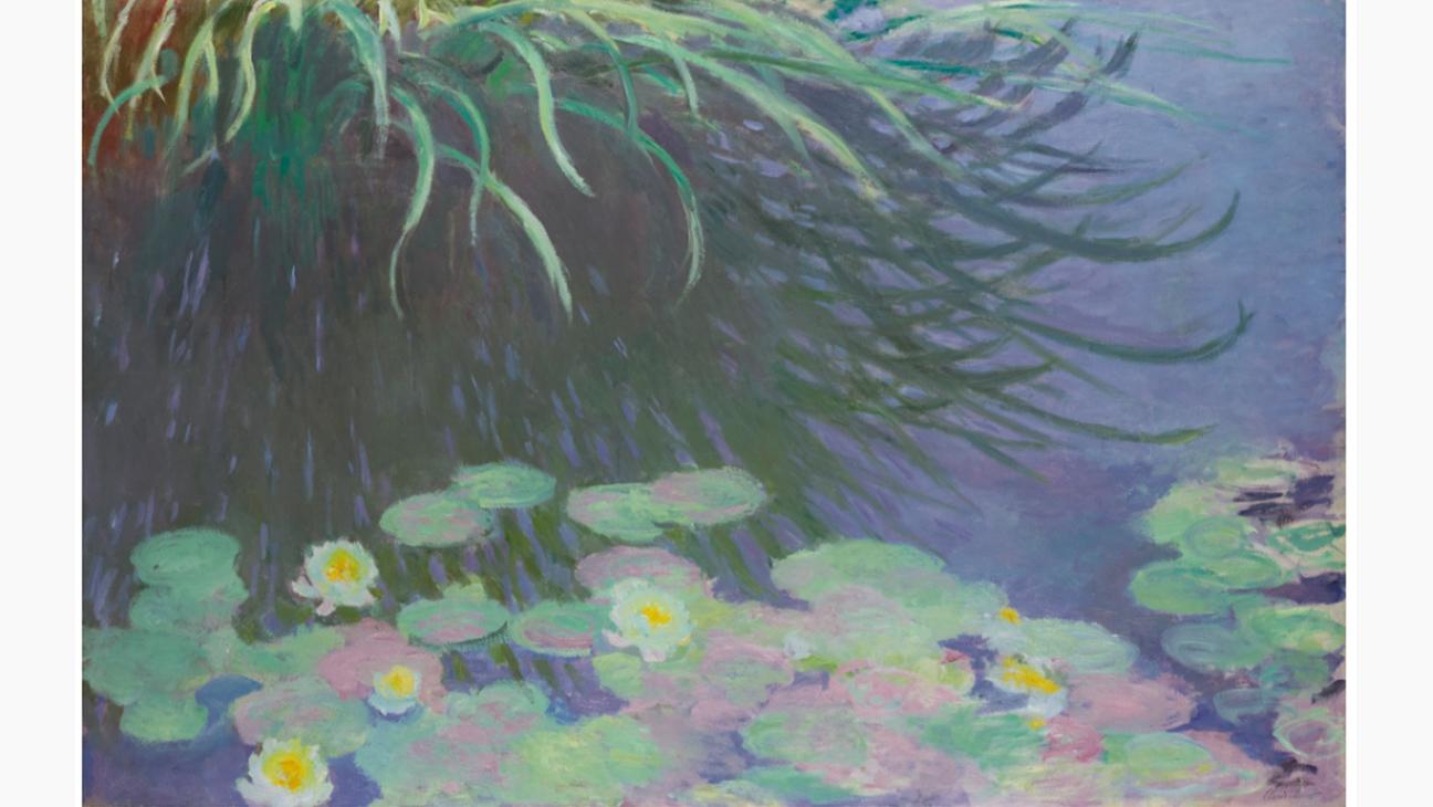 """Claude Monet's """"Nympheas avec Reflets de Hautes Herbes"""""""