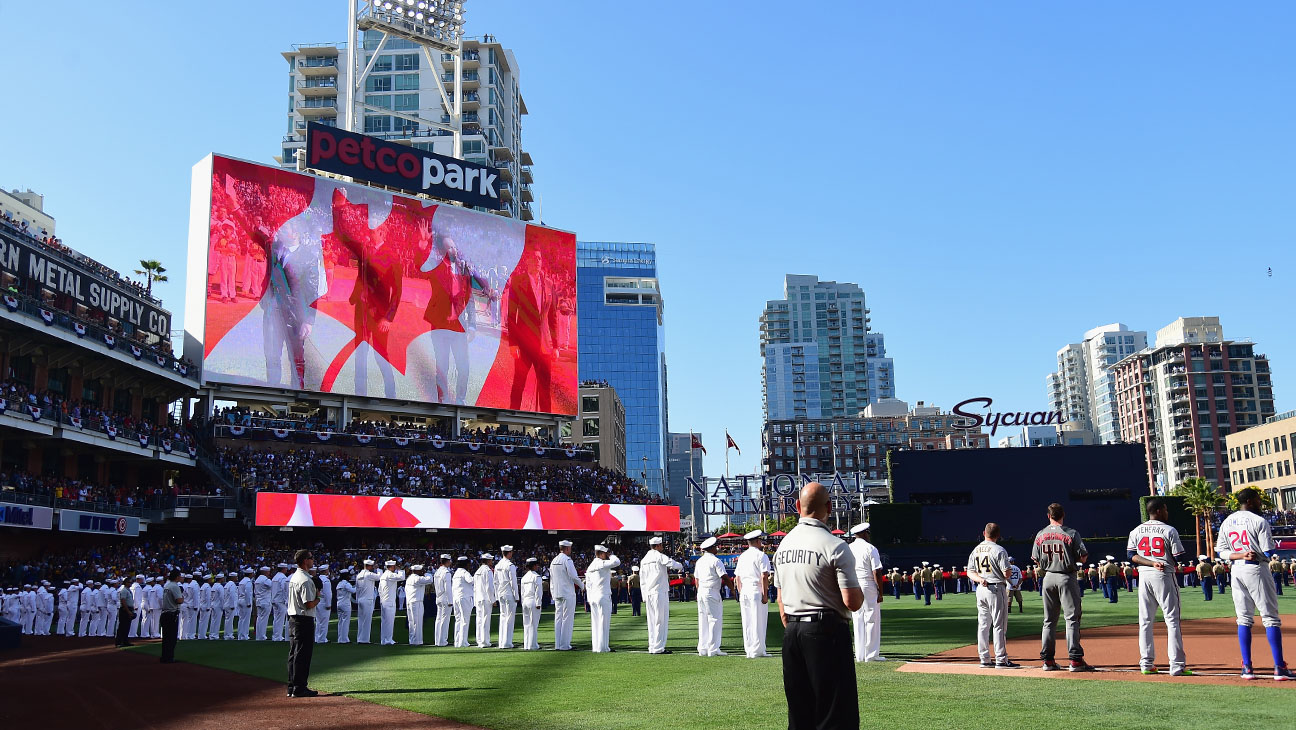 All Star Game Petco Park - Getty - H 2016
