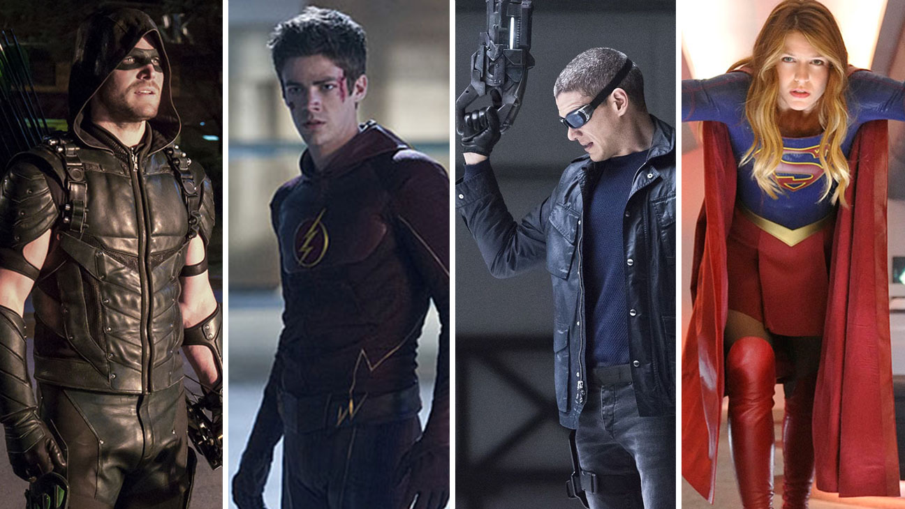 Arrow, The Flash, Legends of Tomorrow, Supergirl - H 2016
