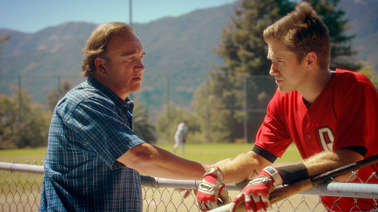 Undrafted-Still1-James Belushi and Aaron Tveit -H 2016