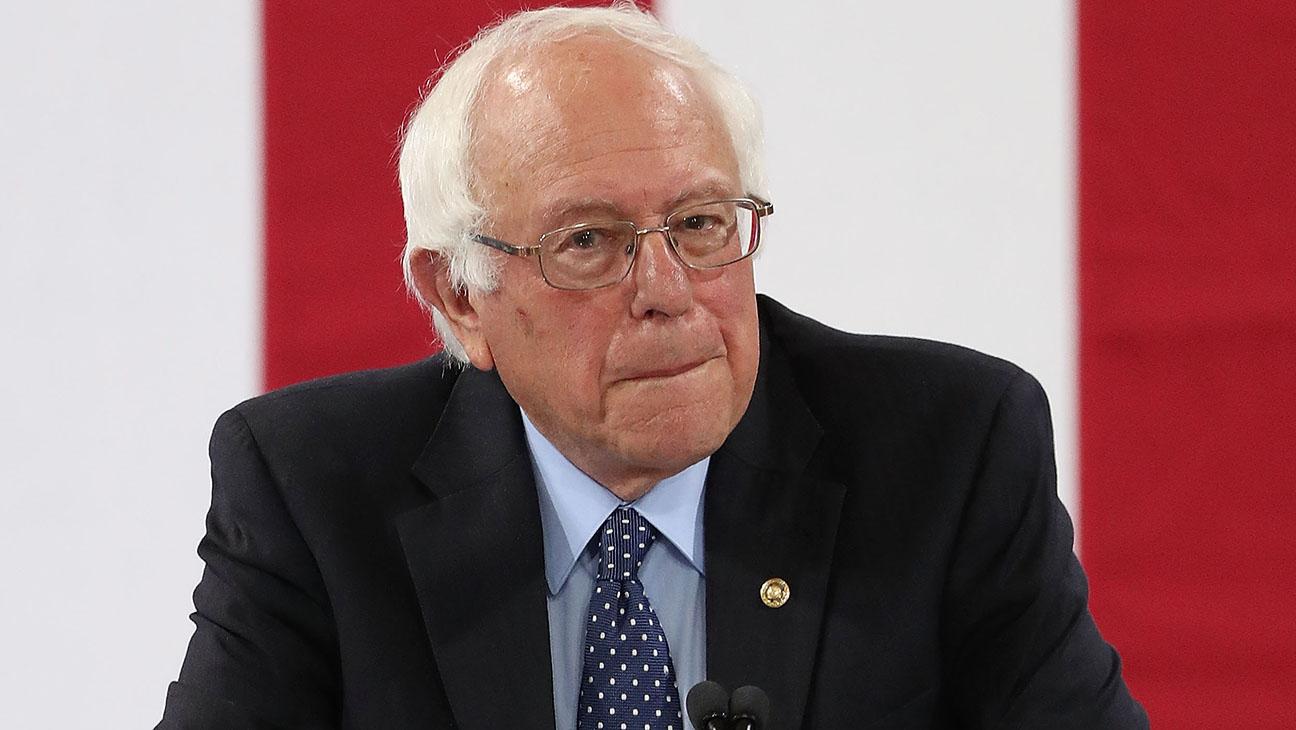 Bernie Sanders Endorsing Hillary NH Getty H 2016