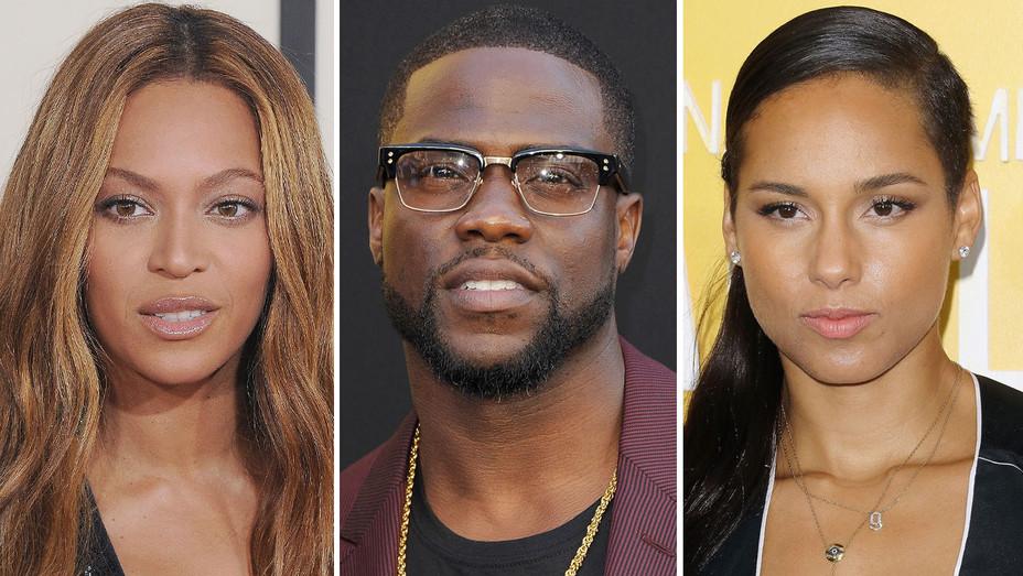 Beyonce Kevin Hart Alicia Keys Split H 2016