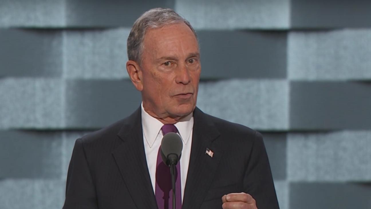 Michael Bloomberg at DNC — H 2016