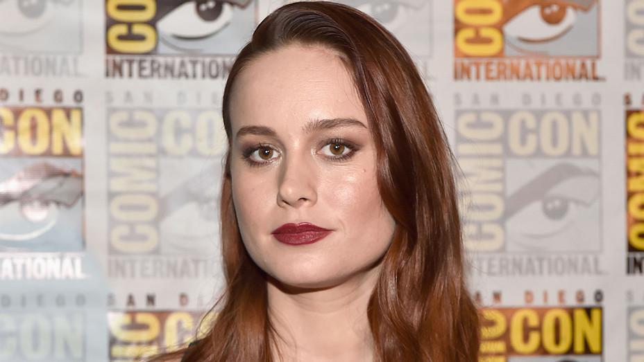 Brie Larson Marvel Studios Panel H 2016