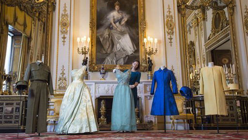 Queen Elizabeth Wardrobe Exhibit - 2016 H