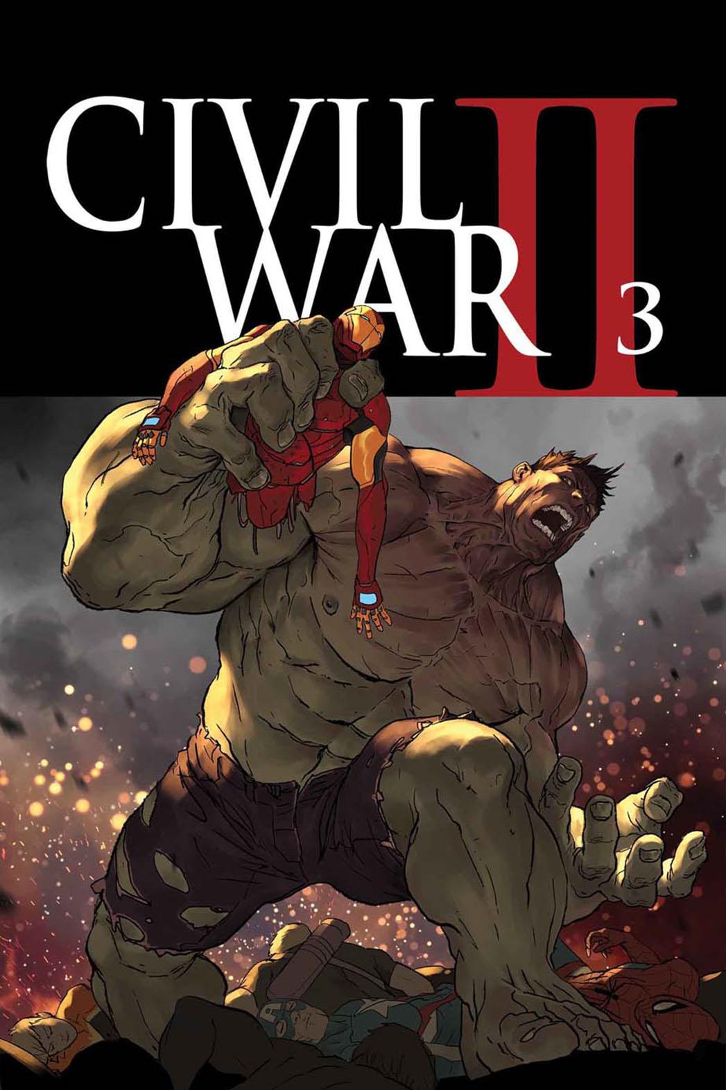 Civil War II 3 Cover P 2016