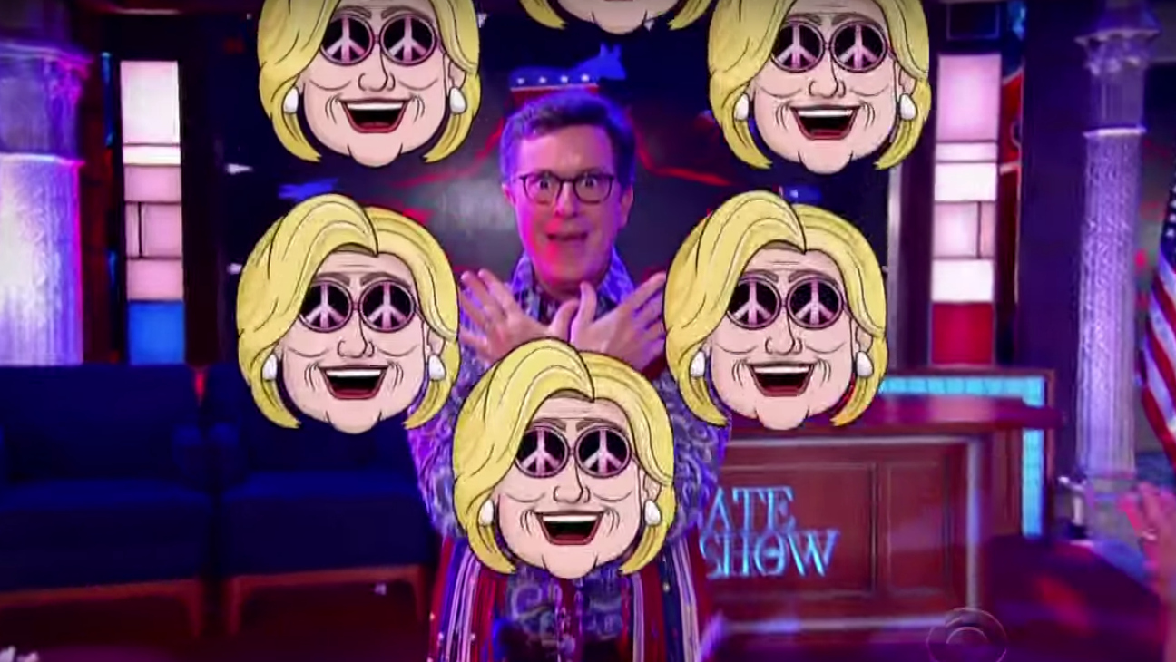 Stephen Colbert Sings About DNC — H 2016