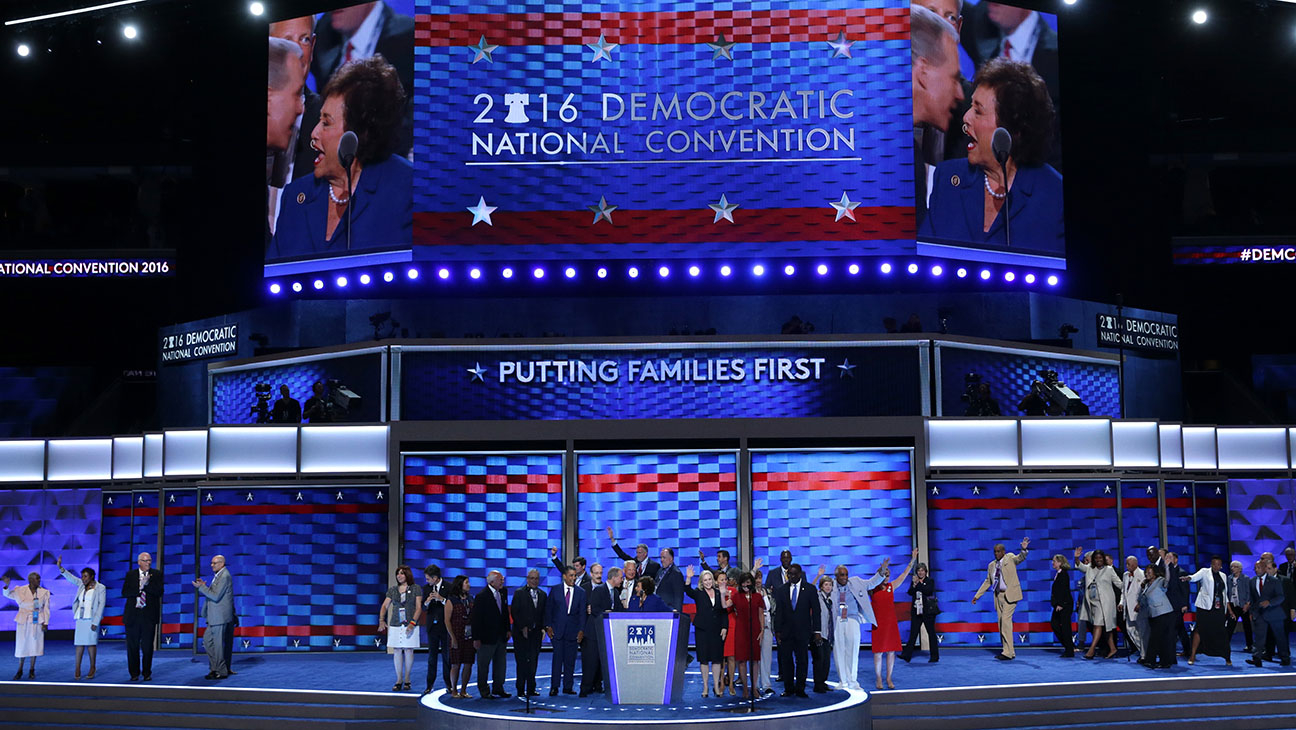 Democratic National Convention: Day One - Getty - H 2016