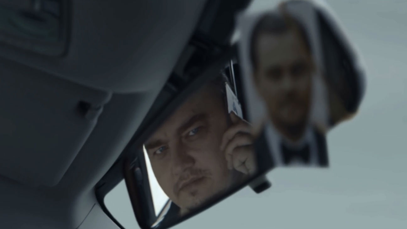 Russian Leonardo Di Caprio in Vodka Ad
