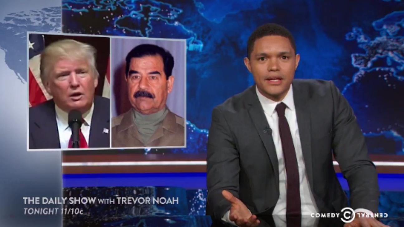 Trevor Noah Daily Show - H 2016