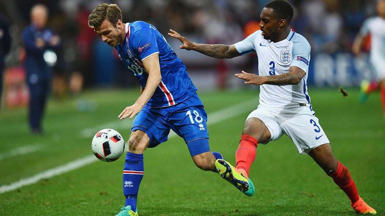 England V Iceland Round of 16 UEFA Euro 2016