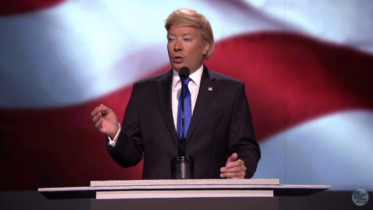 Jimmy Fallon 'Tonight Show' Trump sketch - H 2016