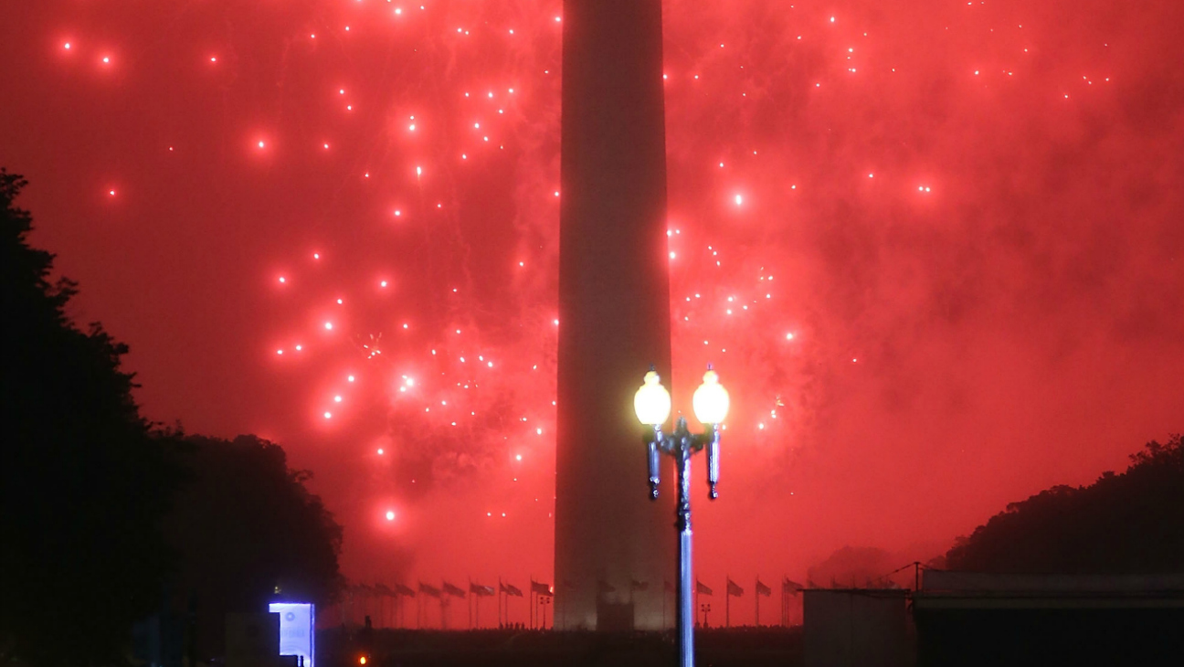 Fireworks in DC — H 2016