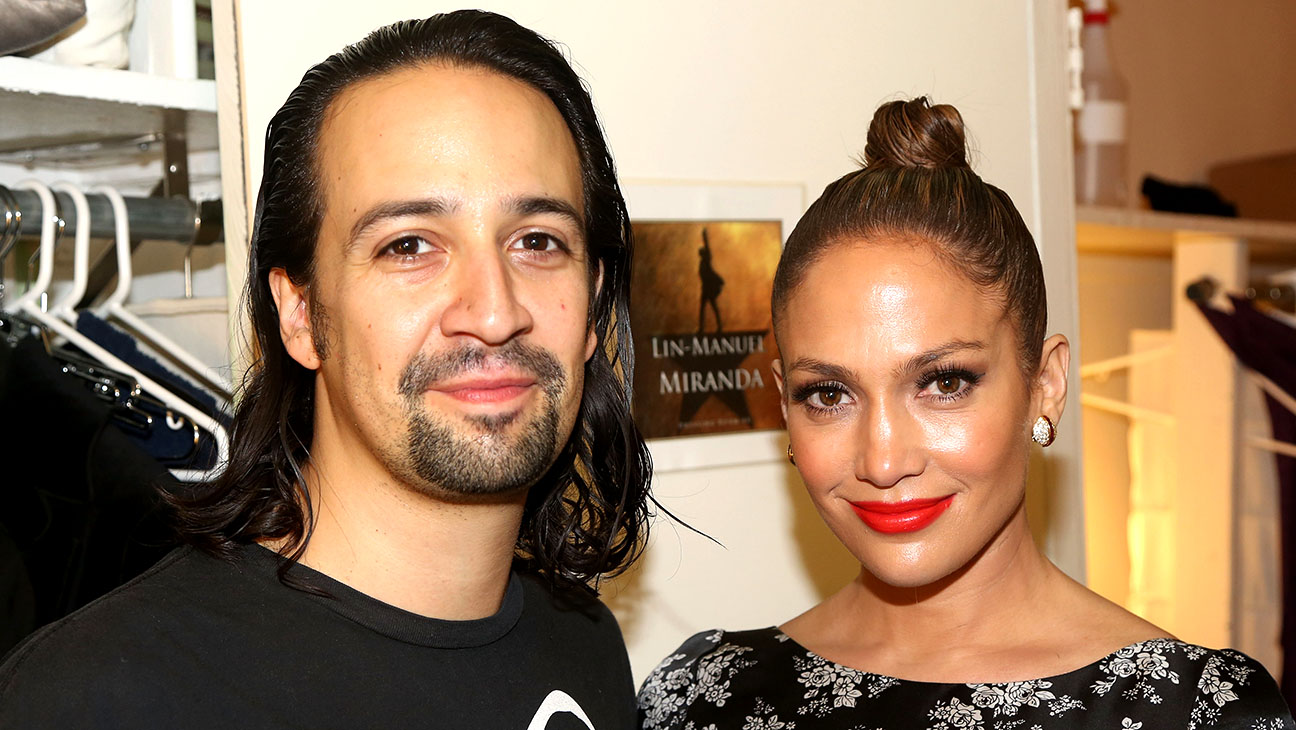 Jennifer Lopez and Lin-Manuel Miranda -H 2016
