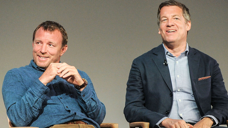 Guy Ritchie and Lionel Wigram - Getty-H 2016