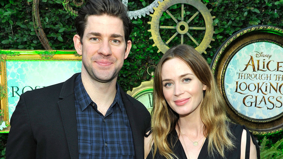 John Krasinski and Emily Blunt -Getty-H 2016