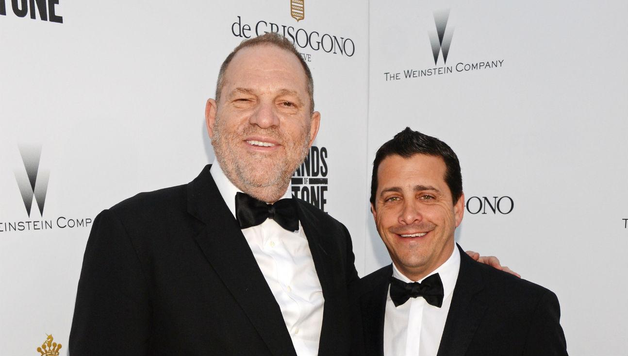 Harvey Weinstein David Glasser - Getty - H 2016