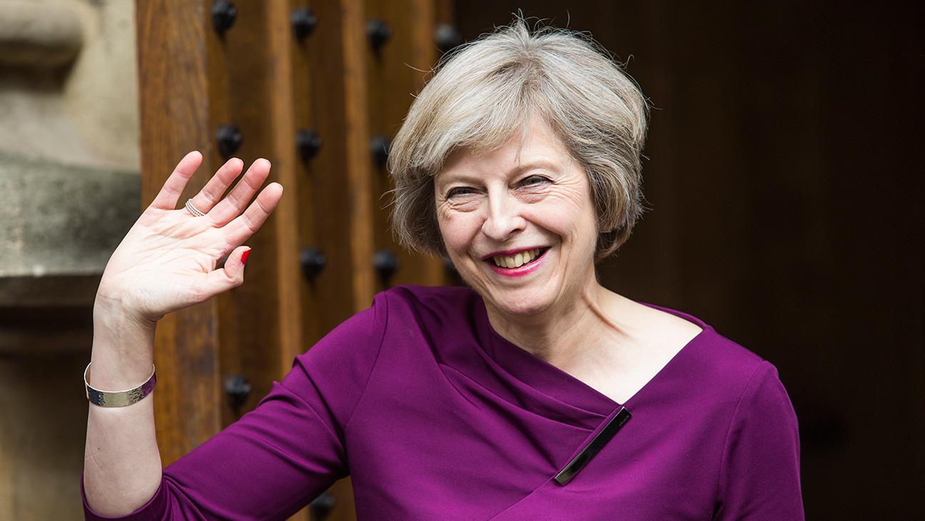 Theresa May - Getty H 2016