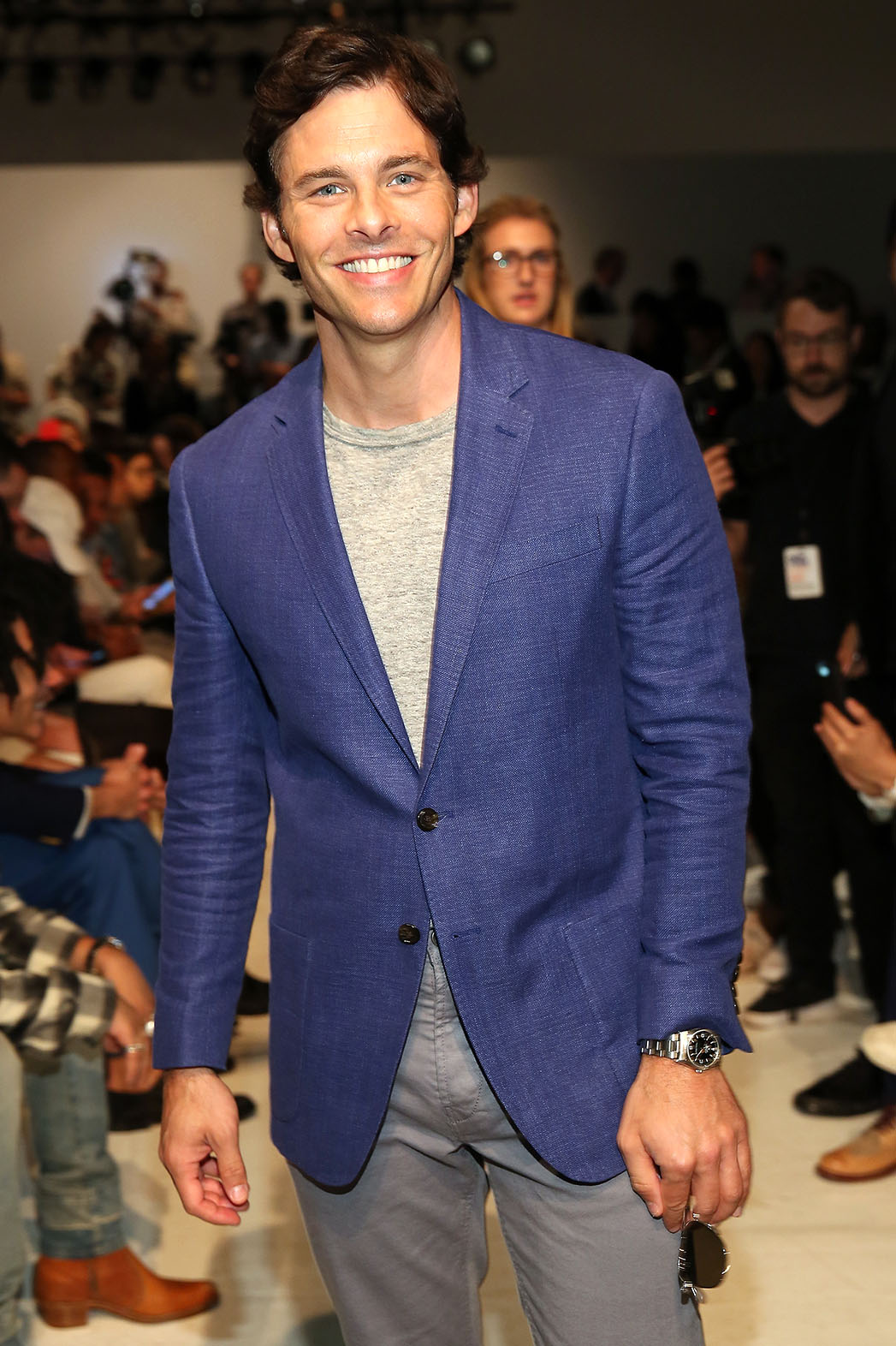 James Marsden attends the Todd Snyder fashion show -Getty-P 2016
