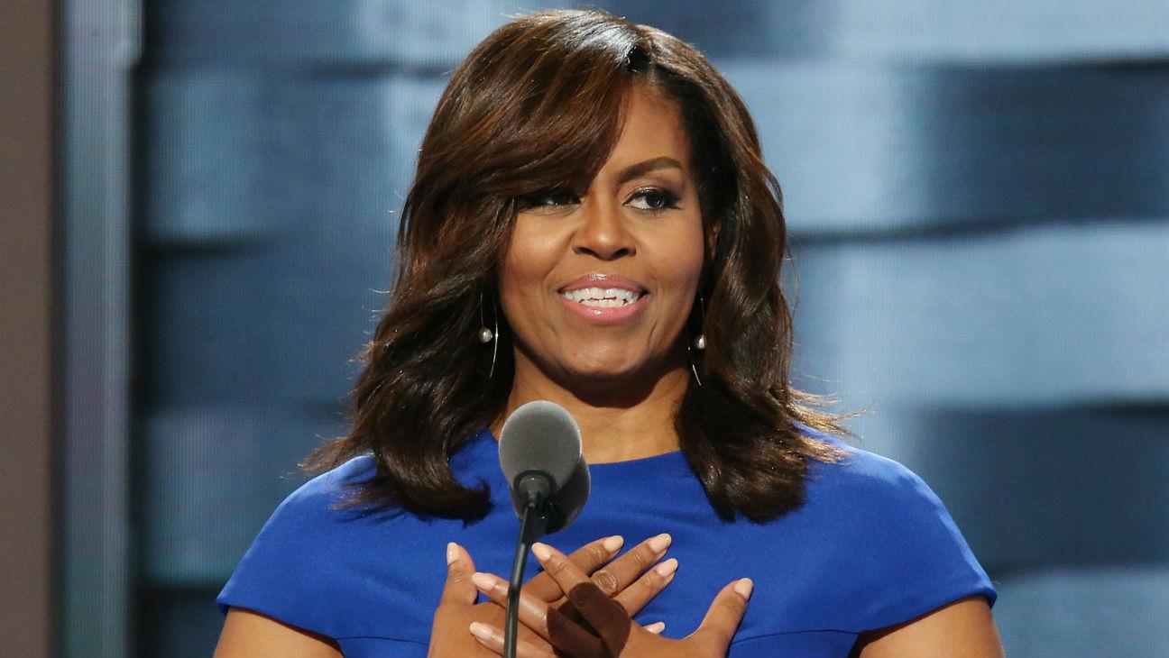 Michelle Obama DNC Speech - Getty - H 2016