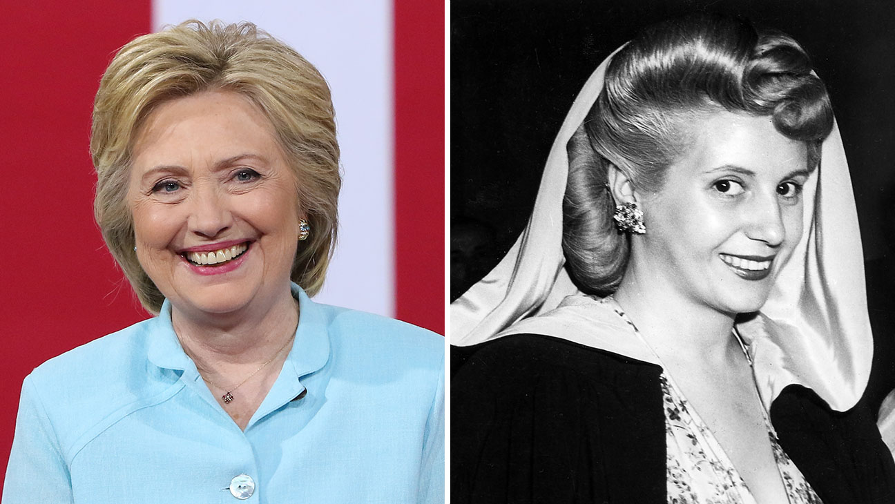 hillary clinton and eva peron_Split - H 2016