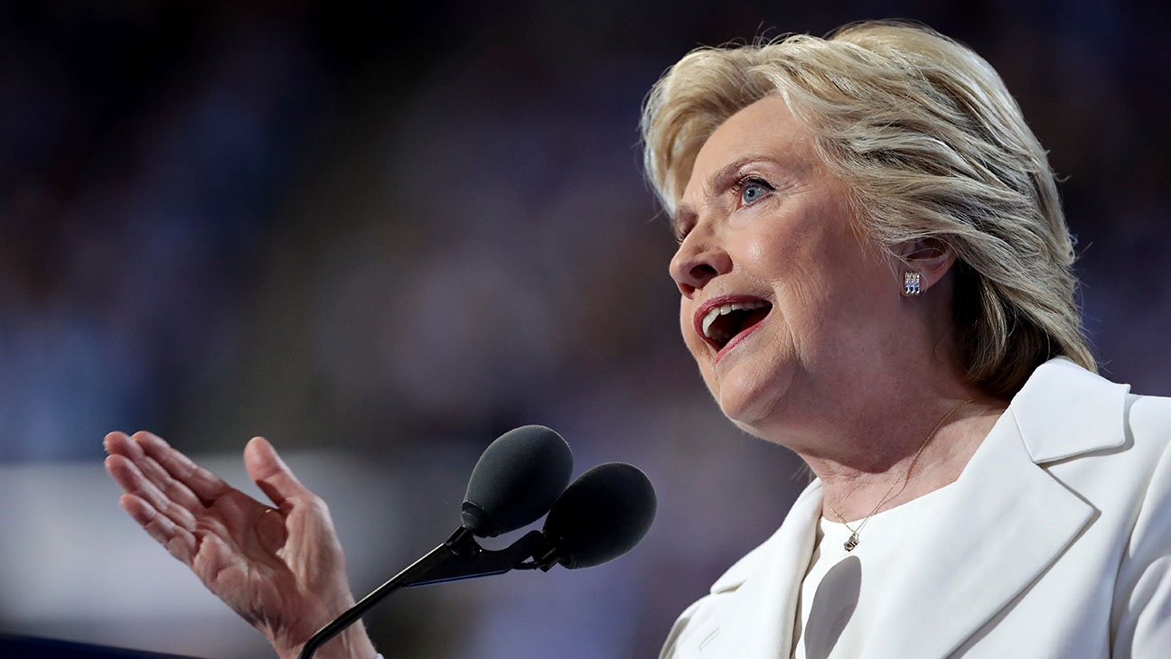 Hillary Clinton_Onstage_DNC_8 - Getty - H 2016