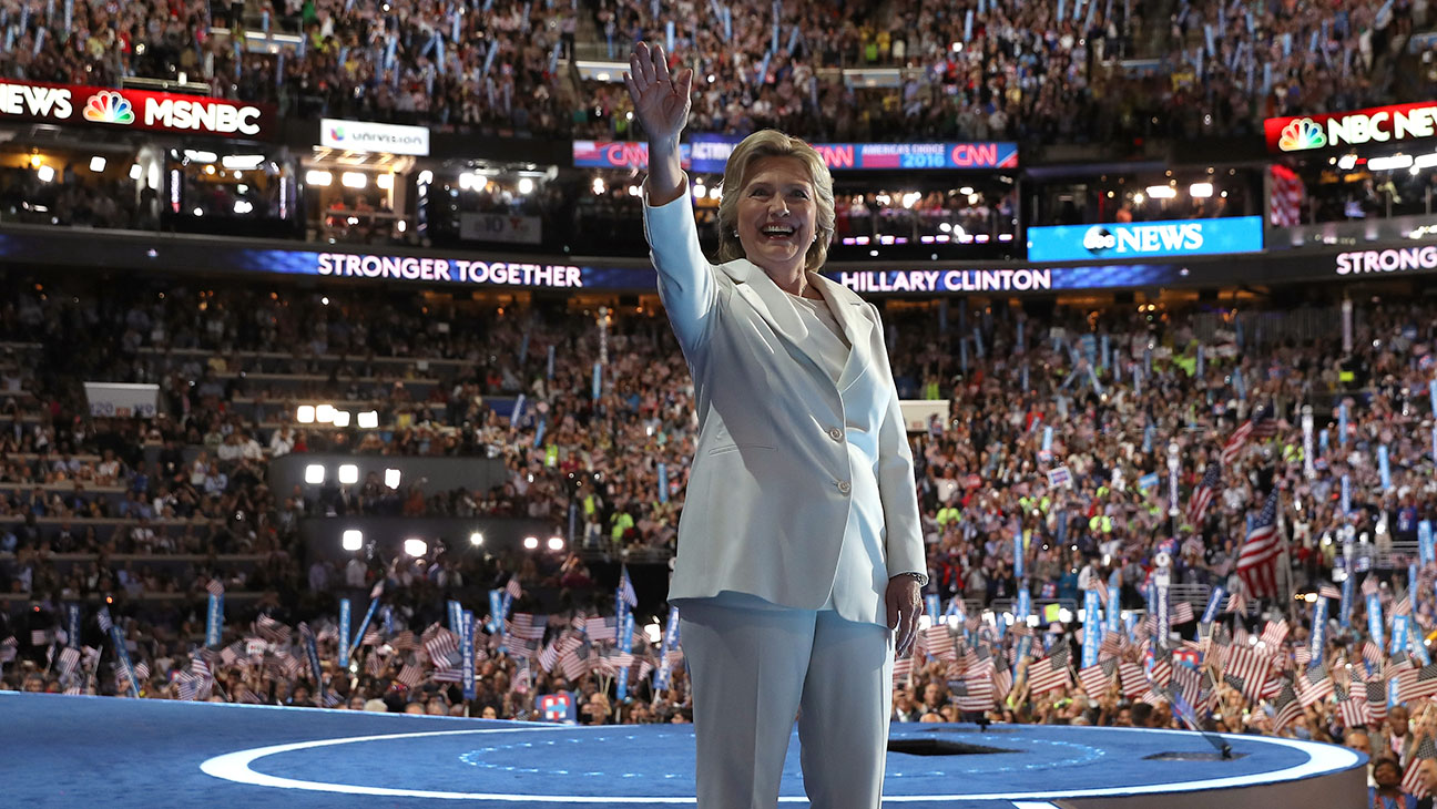 Hillary Clinton_Onstage_DNC_2 - Getty - H 2016