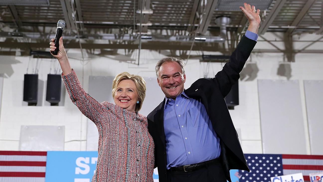 Hillary Clinton Tim Kaine - H 2016
